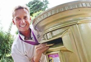 Gold Medallist in the Dressage - Carl Hester from Sark