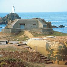 Bunkers at Corbiere