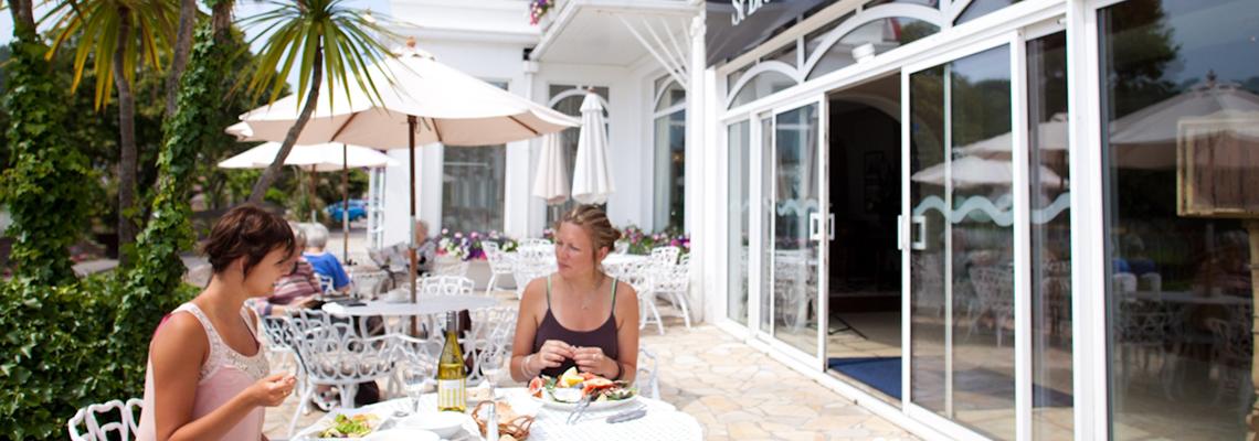St Brelade's Bay Hotel Terrace