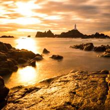 Sunset at Corbiere