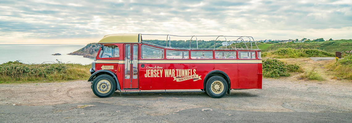 Jersey War Tunnels Bus
