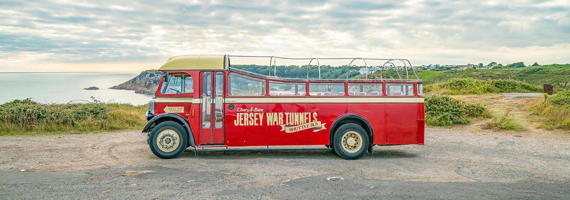 Jersey War Tunnels Bus