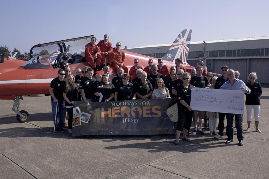 Holidays for Heroes Jersey