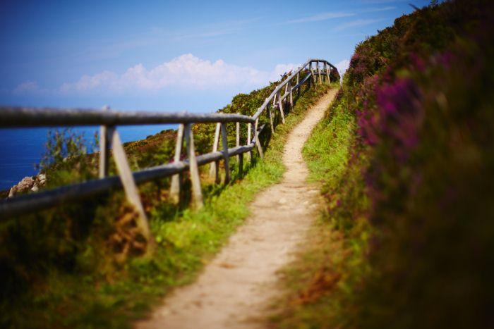 Jersey Holidays on a Shoestring - Cliff Walk