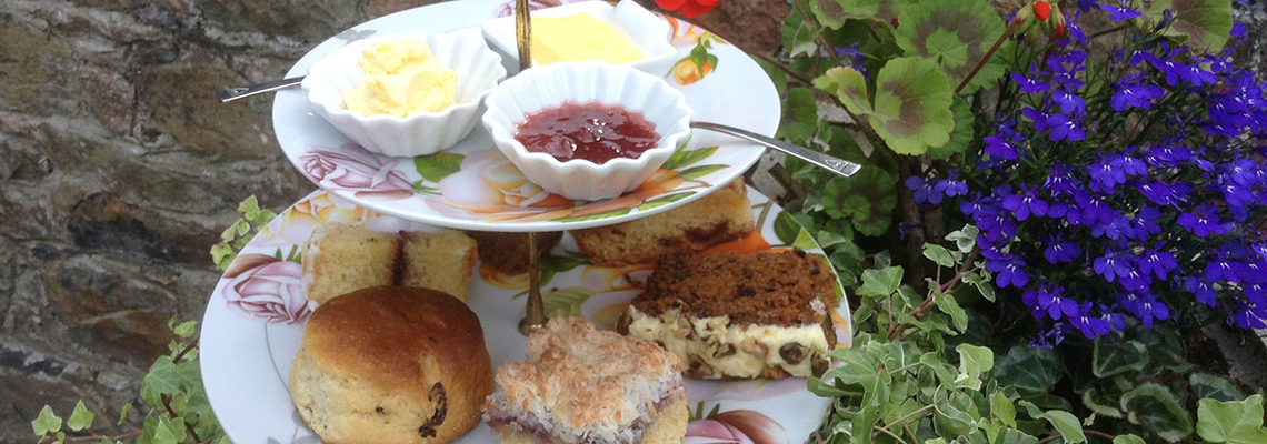 Classic Farm Shop - Cream tea