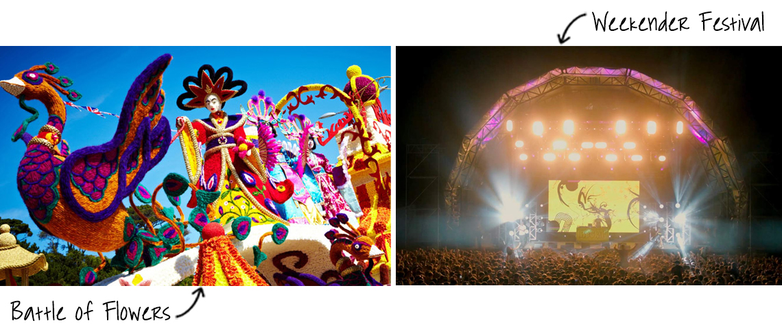 Jersey Festivals during August and September
