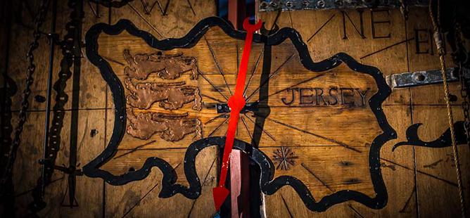 Jersey Island Clock