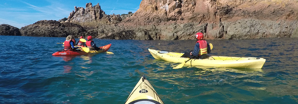 Kayaking with Absolute Adventures Jersey