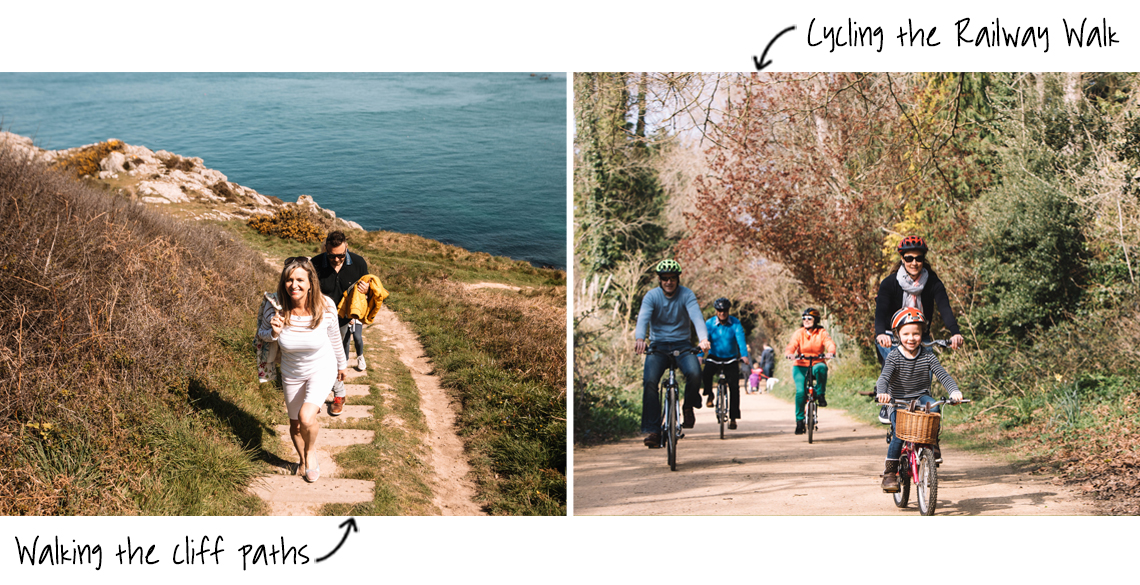 Walking and Cycling in Jersey