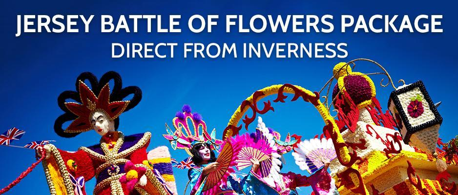 Battle of Flowers Package from Inverness