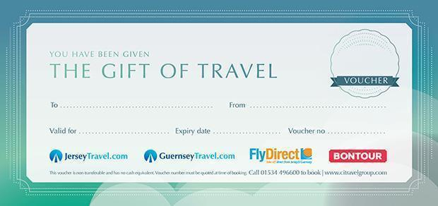 Gift Vouchers Travelling To Jersey