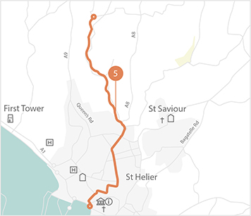 Jersey Cycle Guide Route 5