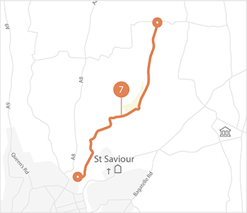 Jersey Cycle Guide Route 7