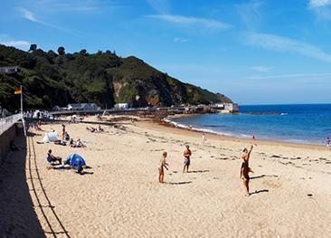 Greve de Lecq Beach