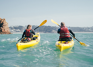 Jersey Kayak Adventures Organised Tours