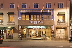 Pomme D'Or Hotel Dining